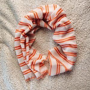 Striped Transparent Blanket Scarf